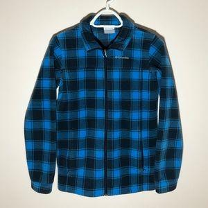 Columbia Fleece Zip Up Jacket